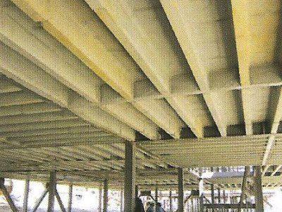 انواع سقف سقف تیردال